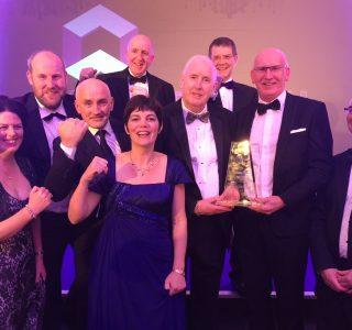 Award winning engineer team